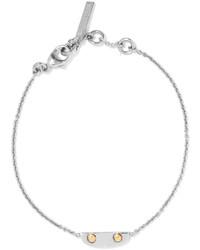 Bracelet argenté Balenciaga