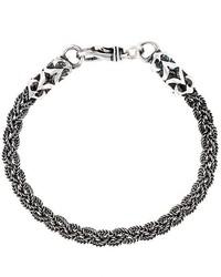 Bracelet argenté Emanuele Bicocchi