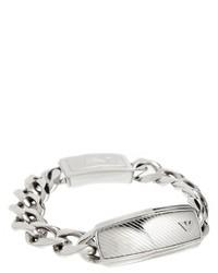 Bracelet argenté Emporio Armani