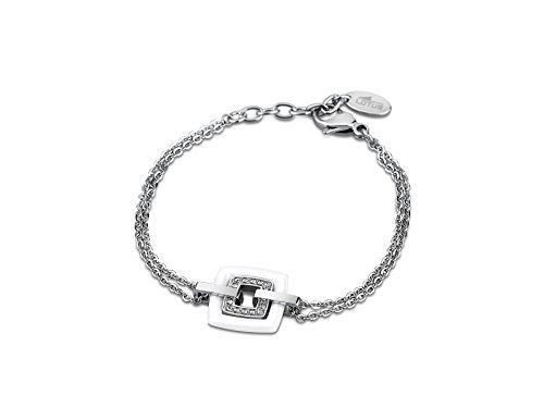 Bracelet argenté Lotus
