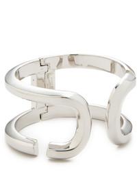 Bracelet argenté Marc Jacobs