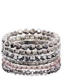Bracelet argenté Pieces
