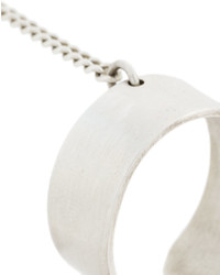 Bracelet argenté Ann Demeulemeester