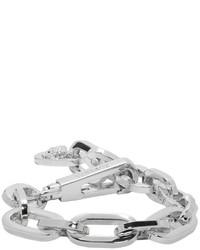 Bracelet argenté Versace
