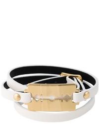 Bracelet blanc McQ by Alexander McQueen