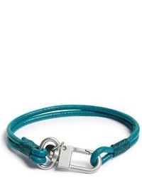 Bracelet bleu canard