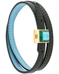 Bracelet bleu canard Fendi