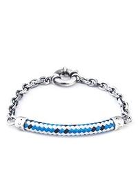 Bracelet bleu clair Anchor & Crew