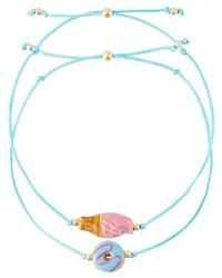 Bracelet bleu clair Venessa Arizaga