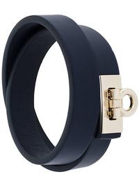 Bracelet bleu marine Salvatore Ferragamo
