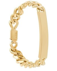 Bracelet doré A.P.C.