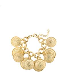 Bracelet doré Balmain