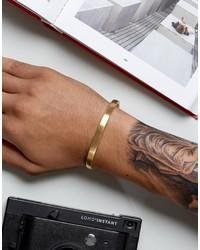 Bracelet doré Seven London