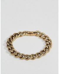 Bracelet doré Icon Brand