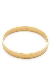 Bracelet doré Kate Spade