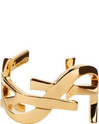 Bracelet doré Saint Laurent