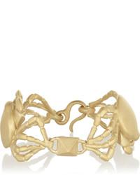 Bracelet doré Valentino