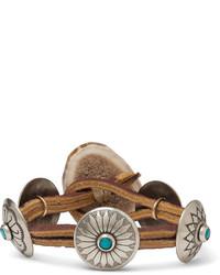 Bracelet en cuir marron Yuketen