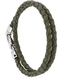 Bracelet en cuir olive Tod's