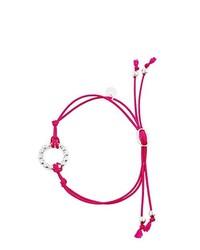 Bracelet fuchsia Kuestensilber