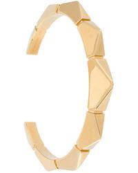 Bracelet géométrique doré Chloé
