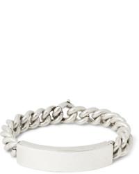 Bracelet gris Maison Margiela