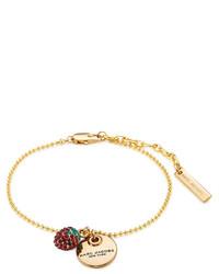 Bracelet imprimé beige