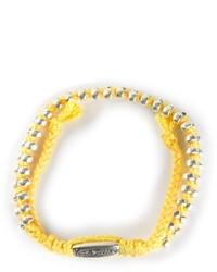 Bracelet jaune Paul Smith