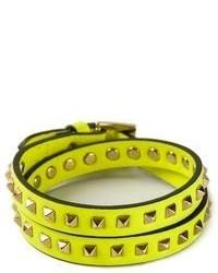 Bracelet jaune Valentino Garavani