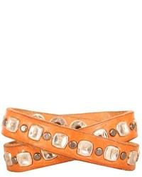 Bracelet marron clair