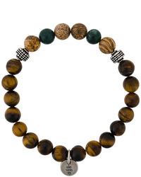 Bracelet marron Eleventy
