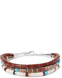 Bracelet marron Peyote Bird