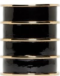 Bracelet noir et doré Balmain