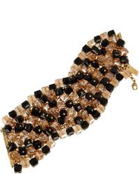 Bracelet noir et doré Etro