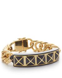 Bracelet noir et doré Rebecca Minkoff