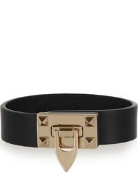 Bracelet noir et doré Valentino
