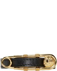 Bracelet noir et doré Versus