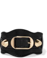 Bracelet noir Balenciaga