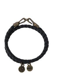Bracelet noir Diesel