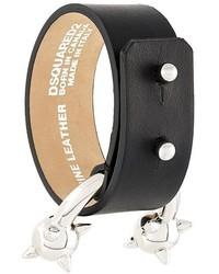 Bracelet noir Dsquared2