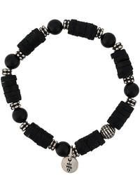 Bracelet noir Eleventy