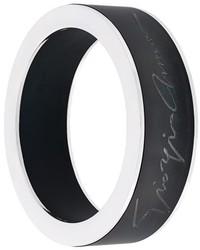 Bracelet noir Giorgio Armani
