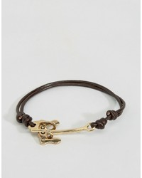 Bracelet noir Icon Brand