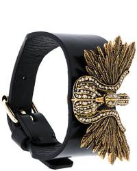 Bracelet noir Lanvin