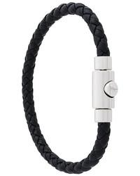 Bracelet noir Salvatore Ferragamo