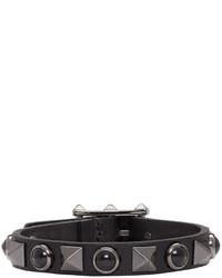 Bracelet noir Valentino