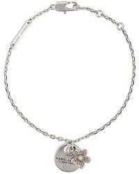 Bracelet orné argenté Marc Jacobs