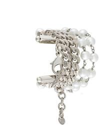 Bracelet orné argenté MM6 MAISON MARGIELA