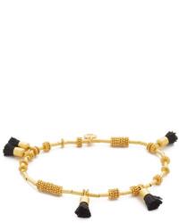 Bracelet orné de perles doré Madewell