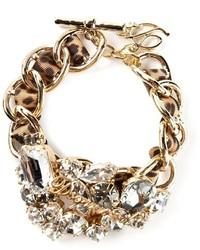 Bracelet orné doré Dsquared2